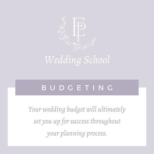 Wedding School Part 1 - Budgeting