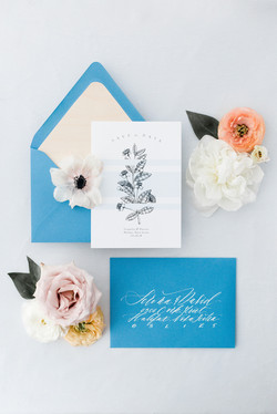 Coastal Inspired Save the Date