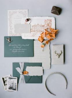 Scottish Inspired Wedding Invitation