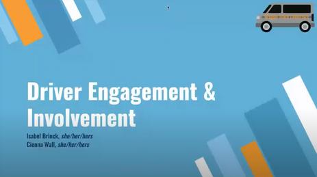 Driver Engagement & Involvement