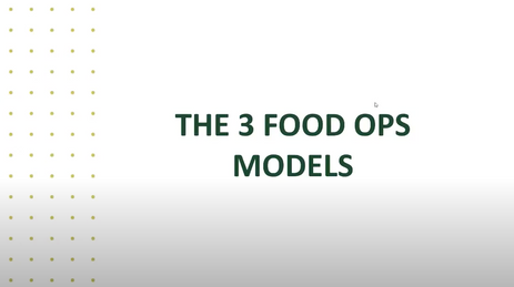 3 Food Ops Model