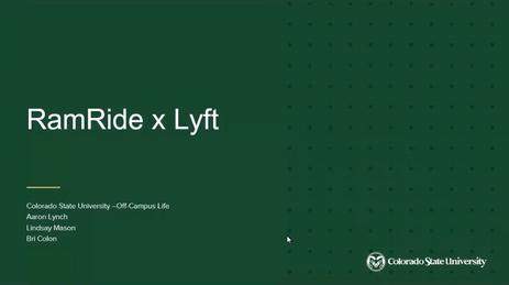 RamRide x Lyft