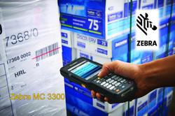 Zebra MC3300 in a Warehouse