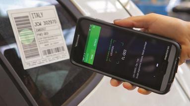 2D barcode scanning