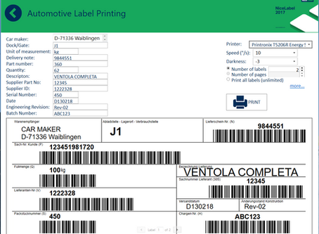 Printing barcode labels from the Cloud. What does it mean for your business
