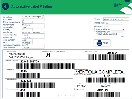 Printing barcode labels from the web.  What does it mean for your business?