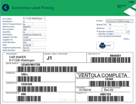 Printing barcode labels from the web  What does it mean for