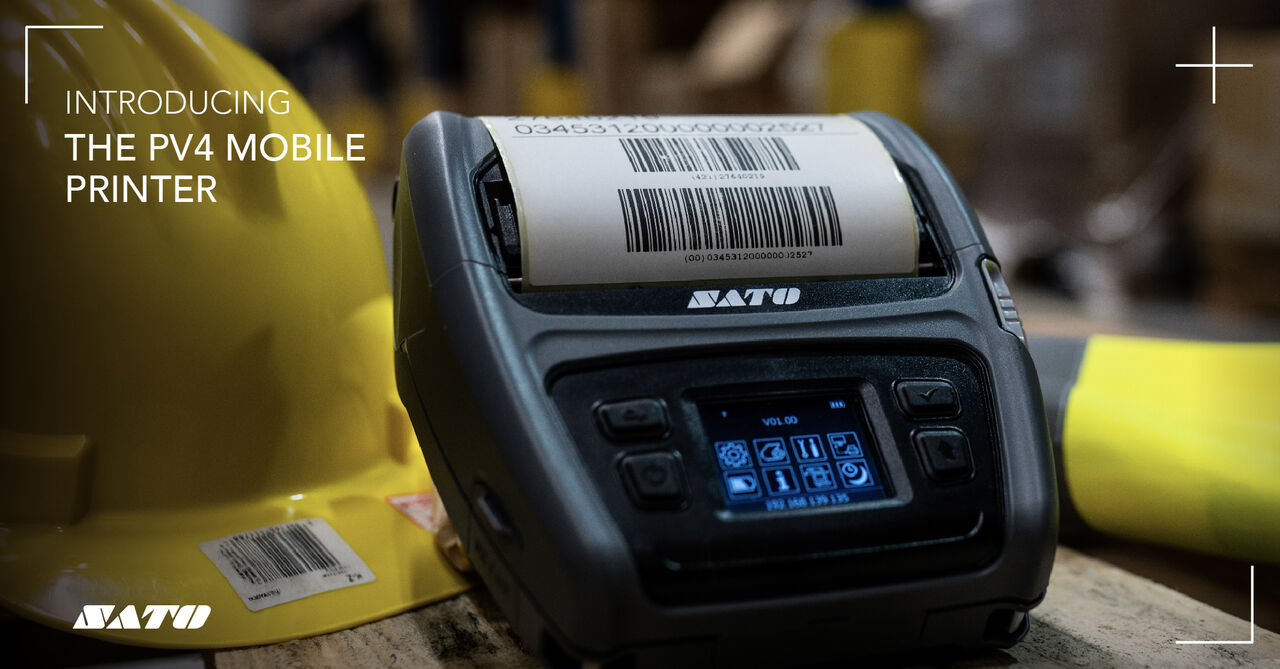Sato PV4 Mobile Label Printer