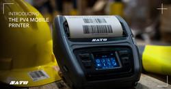 Sato PV4 Mobile Label Printer