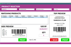 Product Label Printing Solutions