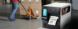 Label printing in the warehouse