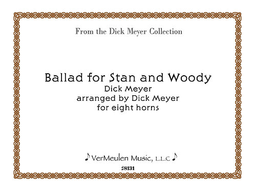 Ballad for Stan and Woody