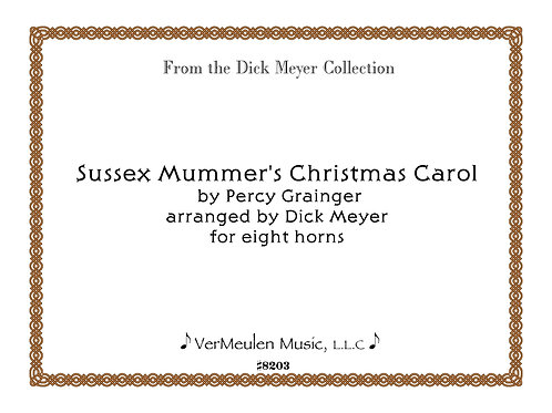 Sussex Mummer's Christmas Carol