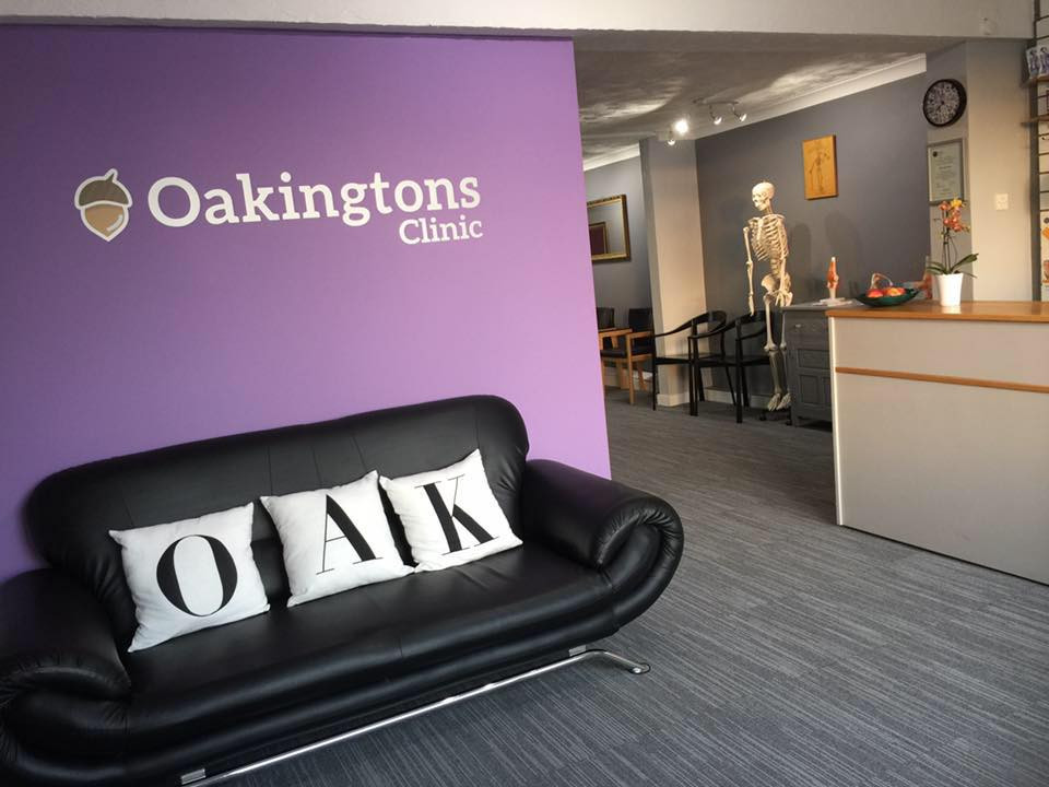 Oakingtons Reception