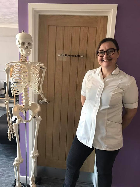 Lynn Peters, Principal Osteopath at Oakingtons