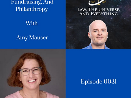 Amy joins Pacifico Soldati for The Law, The Universe, And Everything Podcast