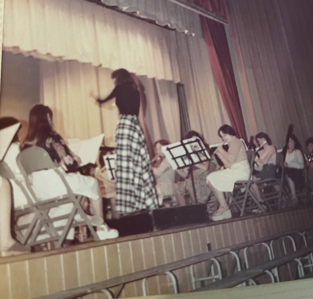 middle school musical band