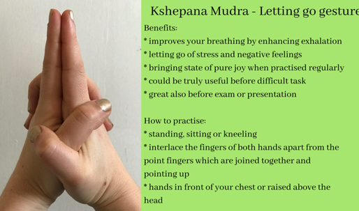 Incorporating mudras in your life