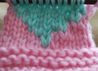 Tricoter un motif en jacquard