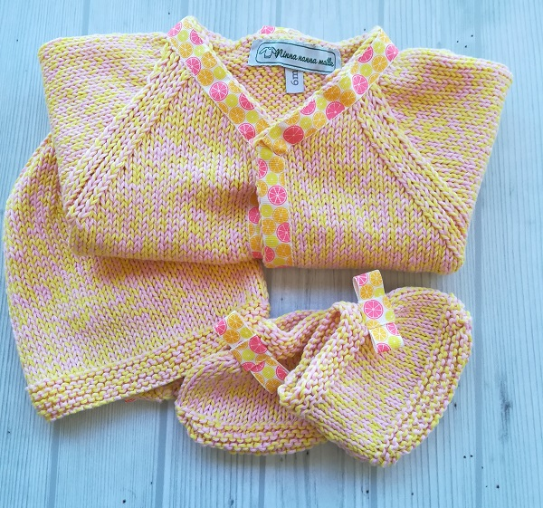 ensemble tricot coton bebe 6 mois