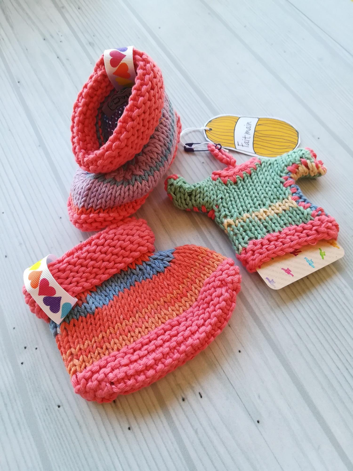 chaussons coton