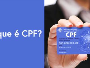 O que é esse tal de CPF?
