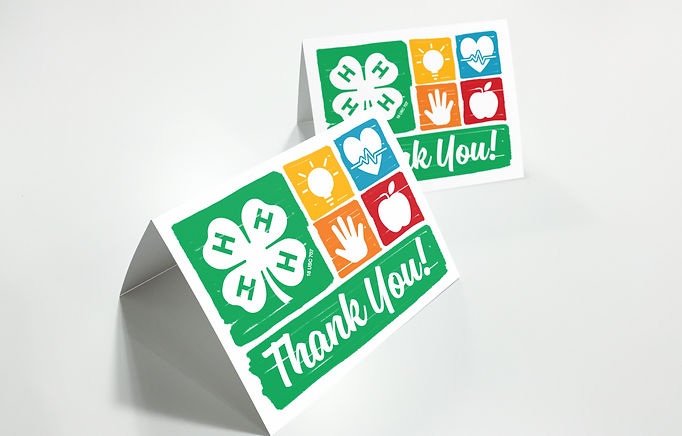 Nebraska 4-H Thank You Card