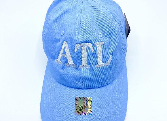 Blue  Atlanta hat