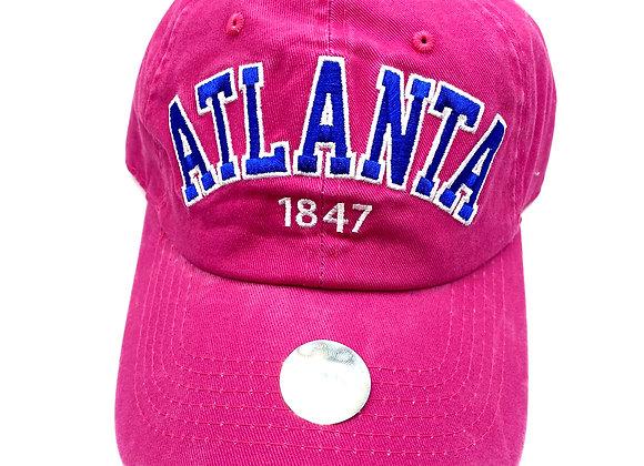copy of Atlanta pink hat
