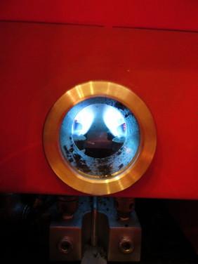 ガス式焙煎機です