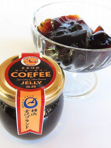 自家焙煎コーヒーゼリー