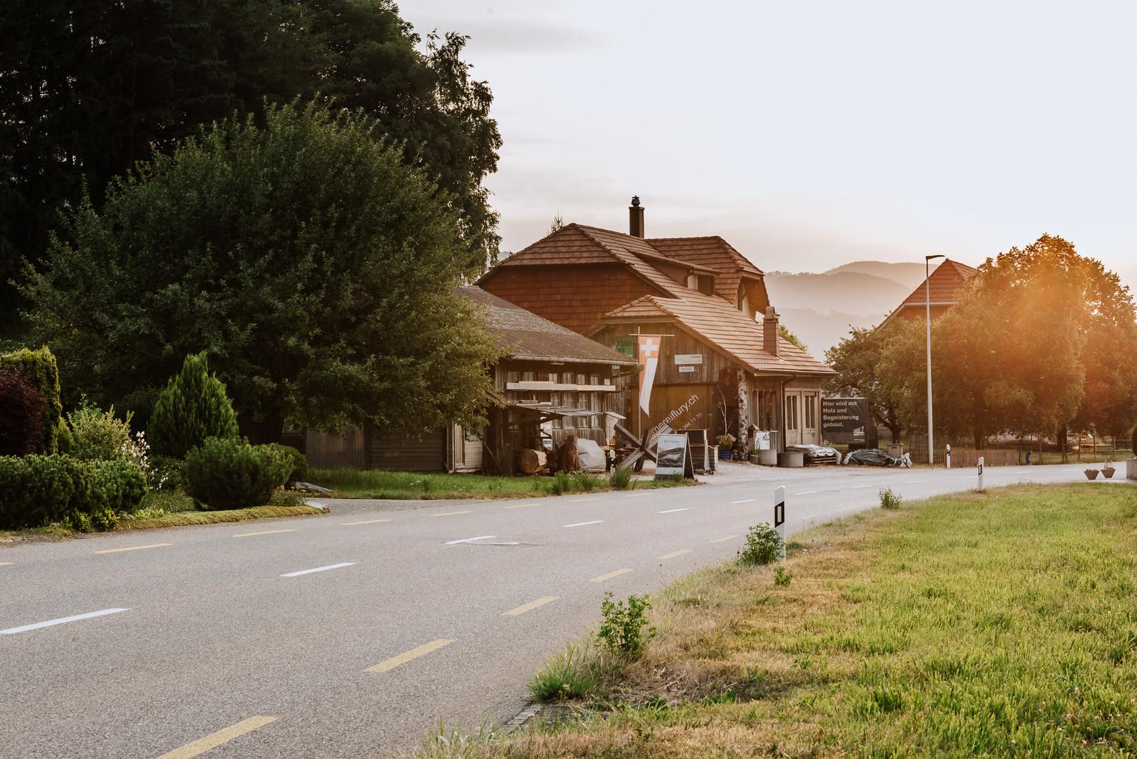 Früh beginnt das Tagwerk an der Thalstrasse 36 in Matzendorf.