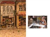 My inspiration - 周師傅 、 Signboard engraver carve and glid calligraphy carved on wooden panels in Ipoh, Malaysia