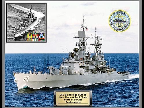 USS Bainbridge CGN 25