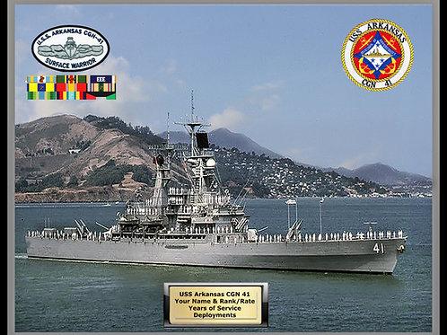 USS Arkansas CGN 41