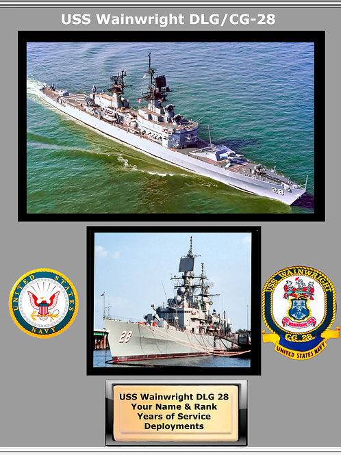 USS Wainwright DLG 28