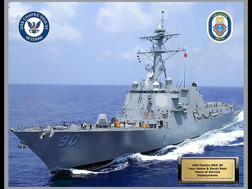 USS Chafee DDG 90