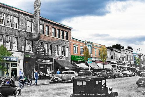 "Libertyville, Downtown ""Morgan's"" Print #66"