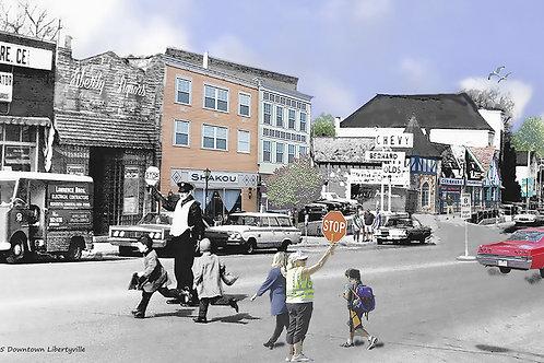 "Libertyville,  ""Crossing Guards"" Print #97"
