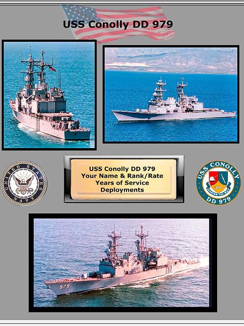 USS Conolly DD 979