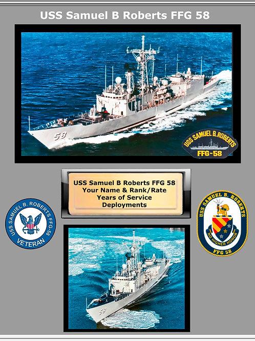 USS Samuel Roberts FFG 58