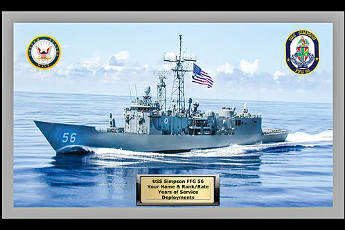 USS Simpson FFG 56