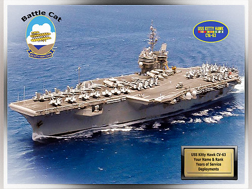 USS Kitty Hawk CV 63