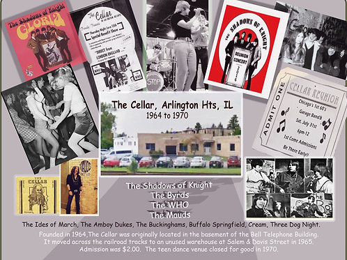The Cellar, Arlington Heights, ILWoodPrint #113