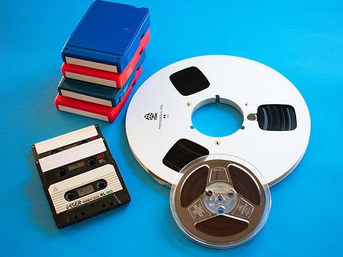 """Digital Image, """"Reel Tapes Combo"""" Print #204"""