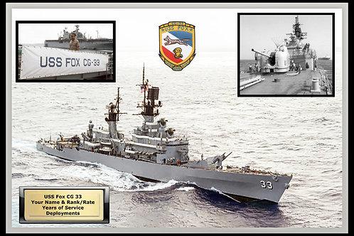 USS Fox CG 33