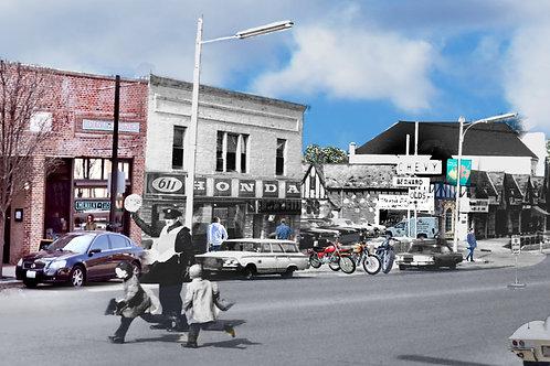 "Libertyville,  ""Crossing Guards"" Print #67"