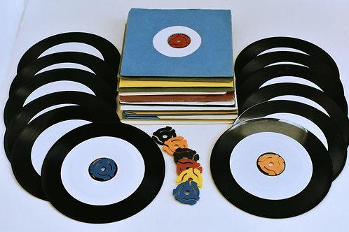 "Digital Image, ""45 rpm records"" Print #206"