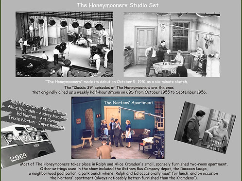 The Honeymooners, Studio Set, Print #110