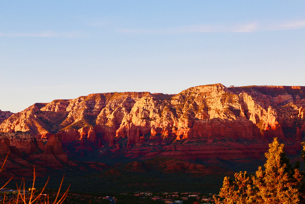 Sedona, travel, spring, sunset, red rocks, Arizona,